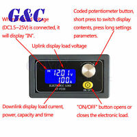 35W 5A Electronic Load Constant Current Battery Capacity Tester LCD display