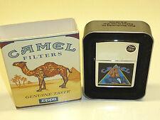 "Camel ""Joe"" ZIPPO Lighter-High Polish Chrome W. Lacquer motifs - 1997-Nice"