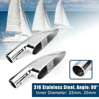 25mm 316 Stainless Steel Marine Boat Railing Rails Pipe Fitting Bracket