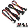 2s 3s 4s 6s LIPO Balance Extension Leads Cables Cord Wire JST-XH 20CM 22AWG