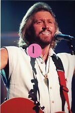 THE BEE GEES BARRY GIBB 9 - 4X6 COLOR CONCERT PHOTO SET #11A