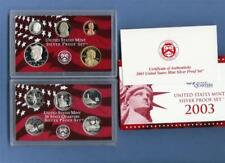 2003 Silver Proof  Set - 10 Coins - Box/COA - Complete