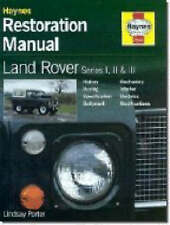 HAYNES RESTORATION MANUAL LAND ROVER SERIES I, II & III - H622