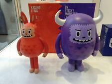Labubu Lung x Sticky Monster Lab SML Kasing Lung Sofubi vinyl Figure Set of 2