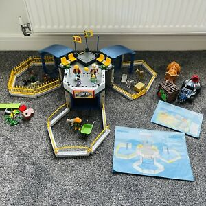 Playmobil 4093 & 9434 City Life Baby Zoo and Enemy Quad with Triceratops Bundle