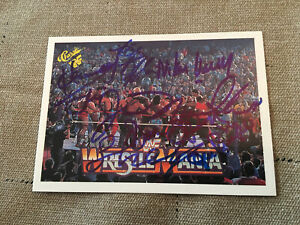 WWE, WCW, TNA 2017 Leaf Buyback Wrestling Autograph card Leaf Authentics COA
