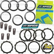 Apico Clutch Kit Steel Friction Plates & Springs For Suzuki RM 250 2007 MotoX