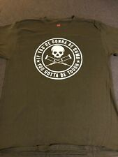 JACKASS T Shirt Olive Green Large New