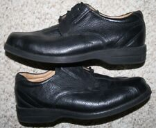 G.H. Bass Co. Black Leather Mens Dress Shoes 8.5 Eight 1/2 Oxford Mans Church