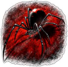 """Black Widow Insect Spider Gothic Biker Hell Car Bumper Vinyl Sticker Decal 4.6"""""""