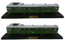 Lot de 2 Automotrices Z-23237 Sceaux 1934 SNCF Ho 1/87 Train Locomotive Atlas