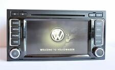 Original VW T5 Multivan Touareg RNS510 LED V14 DVD free code new GPS Antene