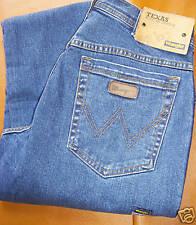 Jeans WRANGLER Texas stretch elastic taglia W36/L34 Denim Elasticizzato
