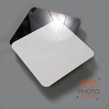 Photograpy Shooting Display 30cm Riser BLACK WHITE Jewellery Studio Reflective