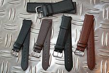 Uhrenarmband Kalbs Leder (auch Lang (XL)) ab 5,99€  8 bis 32mm - Uhrenarmbänder