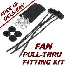 Universal Aftermarket Electric Radiator or Intercooler Fan Pull-Thru Fitting Kit