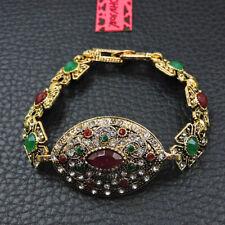 Betsey Johnson Fashion Jewelry Noble Colorful Crystal Bangle Bracelet