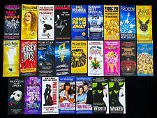 25 Broadway Musical London Flyers, Waitress Wicked Harry Potter Dear Evan Hansen