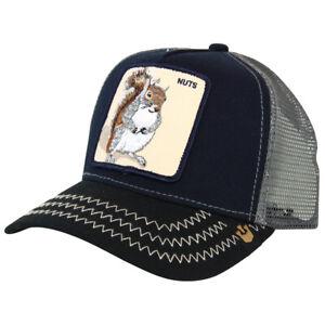 Goorin Bros Squirrel Master Trucker Cap - Navy