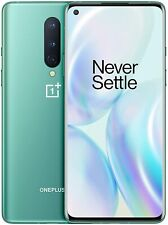 "Smartphone OnePlus 8 Smartphone Glacial Green | 6.55"" Fluid AMOLED 5G 12GB/256GB"