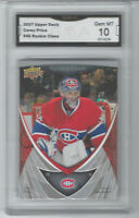 2007-08 CAREY PRICE ROOKIE CLASS CARD #45 GRADED GMA GEM MINT 10 HABS RC