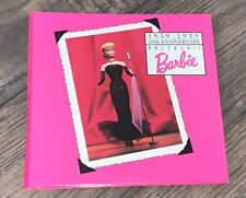 Barbie 1959-1989 30th Anniversary One Ounce .999 Silver Coin W/ Dispaky Booklet
