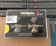4pcs WBT-0610Cu Nextgen Banana Plugs