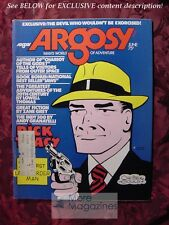 ARGOSY June 1974 74 JAWS PETER BENCHLEY CHESTER GOULD +