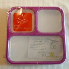 2 Lifemark Labs Bento Lunch Box 3 Comp. Leakproof Microwave Safe Purple