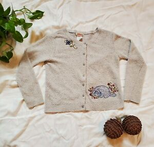 Vintage Disney Button Up Cardigan  - EYORE (Excellent Condition)