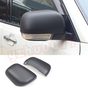 2015-2019 For Mitsubishi Pajero V93 V97 Matte Black Rear view Mirror Cover Trim