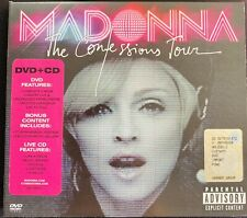 MADONNA The Confessions world Tour live 2006 DVD + CD Digipack deluxe ( 2007 )