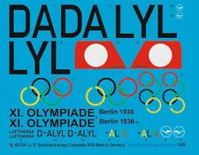 Peddinghaus-Decals 1/48 2326 Ju 52 Sonderlackierung Olympiade 1936