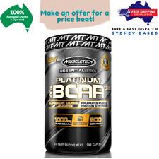 Muscletech Platinum BCAA 8:1:1 - 1000mg - 200 Caplets - Free & Fast Shipping!