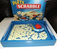 Party Scrabble Board Game (Mattel Games) 100% Complete and Excellent Condition
