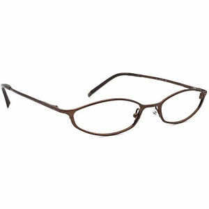 Gucci Eyeglasses GG 2706 ZM2 Brown Oval Metal Frame Italy 49[]17 135