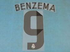 Spanish La Liga 2014-2015 Real Madrid #9 Benzena Homekit NameSet Printing