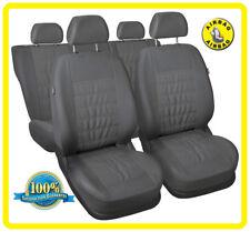CAR SEAT COVERS full set fit HONDA LEGEND - leatherette Eco leathe grey