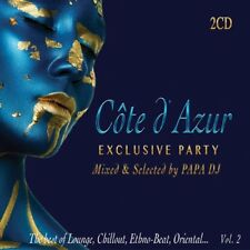 CÔTE D'AZUR EXCLUSIVE PARTY Mixed & Selected by PAPA DJ Lounge Music [2CD]