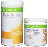 Herbalife Formula 1 Weight Loss Mango Shake & Personalized Protein Powder Combo