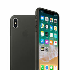 Original Silicone & Leather Case For IPhone 8 Plus X 7 6 6S Genuine OEM Cover
