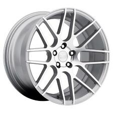 Ground Force GF7 18x8 5x105 CUSTOM Silver Wheels Rims (set of 4)