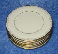 "Noritake, Golden Cove (7719, '86-'99) - Set Of Six 6½"" Bread Plates (VG++)"