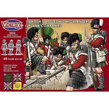 Victrix 0007 British Napoleonic Highlander Flank Companies 28mm scale figures