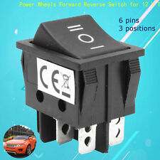 6 Pin 3 Positions T105/55 Power Wheels Forward Reverse Switch for Toy Car 12V