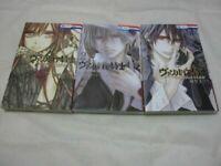 Vampire Knight memories Vol.1-3 Set Japanese Manga
