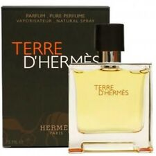 Terre D'Hermes by Hermes Pure Parfum 2.5Oz/75ML NIB Sealed