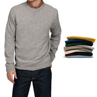 Cashmere Sweater men Wool Fashion jumper Crew Neck round pullover long sleeve