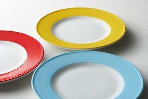 DIBBERN SOLID COLOR TELLER TASSEN UNTERTASSE NEU * diverse Farben - Originalware