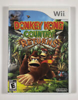 Donkey Kong Country Returns with manual (Nintendo Wii, 2010) Fast Free Shipping